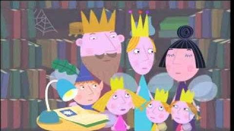Ben and holly's little kingdom books.