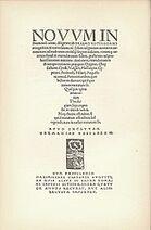 Novum Instrumentum omne, Nowy Testament Grecki Erazma z Rotterdamu, 1516 rok