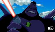 593px-Mono Araña Supremo tratando de detener la espada