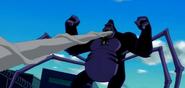 743px-Mono Araña Supremo con telaraña en su boca