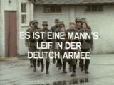A Man's Life in the German Army
