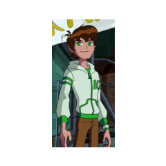 16 year old Ben in <b>Omniverse</b>, with the white jacket