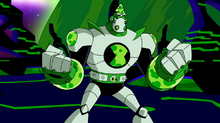 Atomix Ben 10 Omniverse 2013 2016 2017 2018 alien Omnitrix season 2 new episode reboot vilgax john dimaggio powerful robot transformer