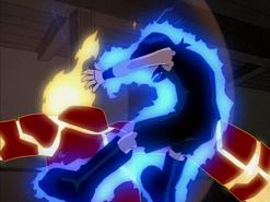 Heatblast vs. Kevin 002