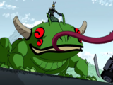 Лягушка-мутант