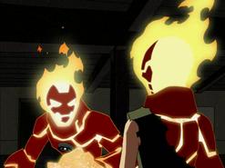 Heatblast vs. Kevin 003