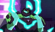 Omni-Enhanced Diamondhead Ben 10 Reboot Season 2 Upgrade Aliens Alien Out to Launch