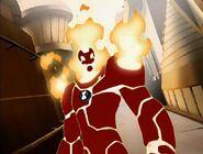 Бен 10 000 Человек-Огонь