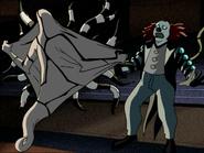 Ghostfreak exposes himself to zombozo