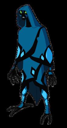 Бен 10 ИС Крылатый сложенные крылья