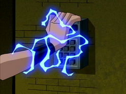 Kevin absorbs electricity
