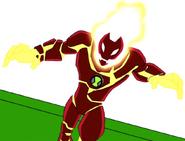 10-летний Человек-огонь ИС