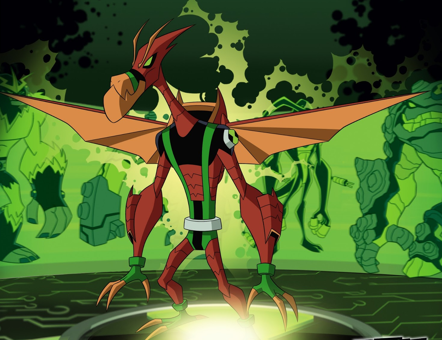 image astrodactyl official png ben 10 ultimate wiki fandom