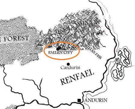 Raven's SHadow Renfael Fallen City