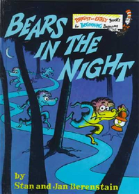 Bears in the night cover