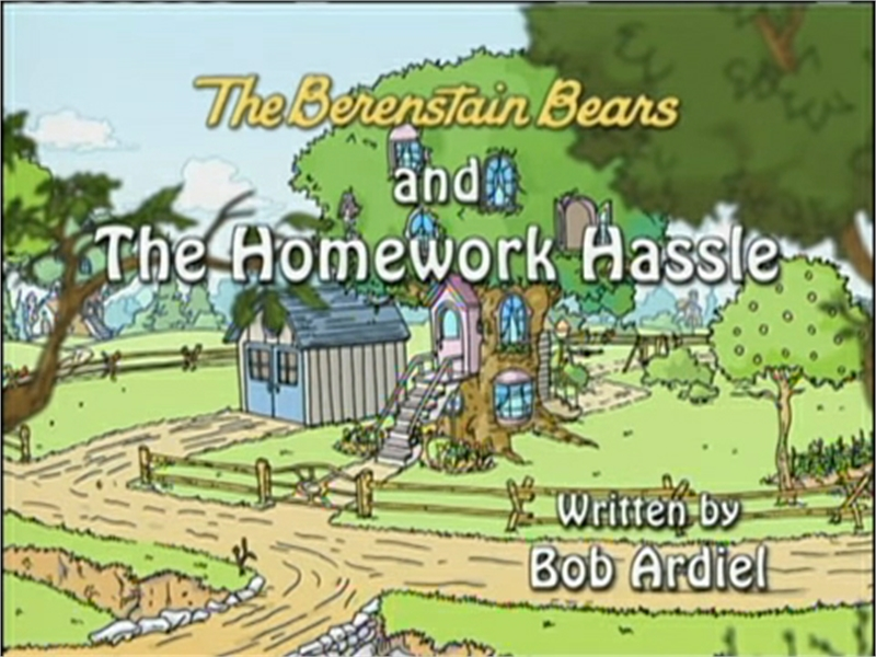 berenstain bears homework hassle episode