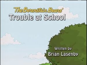 Trouble at School card