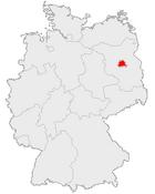 Location berlin in germany