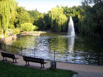 Volkspark Berlin Friedrichshain Grosser Teich
