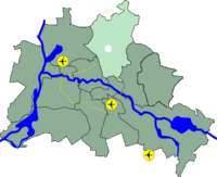Lage Bezirk Pankow in Berlin