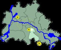 Lage Bezirk Neukoelln in Berlin