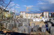 Holocaust-Denkmal im Bau 1