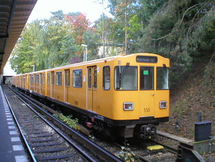 U-Bahn Berlin Zugtyp A3L92