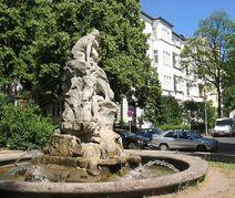 Sintflutbrunnen1 Perelsplatz Berlin
