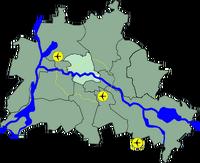 Lage Bezirk Mitte in Berlin