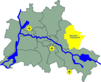 Karte Marzahn-Hellersdorf