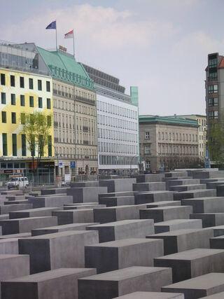 Holocaust Mahnmal Berlin Stelenfeld