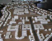 Freie Universität Berlin - Campusgelände - Modell