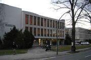 Freie Universität Berlin - Universitätsbibliothek - Eingang Garystrasse