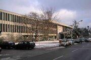 Freie Universität Berlin Henry-Ford-Bau im Winter 01-2005