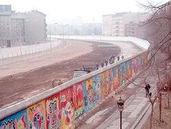 Berlin Wall graffiti&death strip