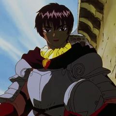 Casca's full armor.
