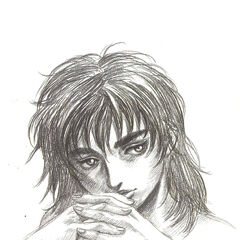 Casca clasps her hands together.