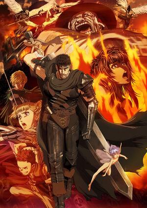 Resultado de imagem para Berserk anime