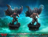 Skull Knight Exclusive Edition & Exclusive White Bone Variant (First4Figures)