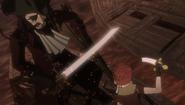 Bonebeard vs Isidro (anime)