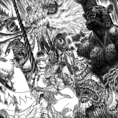 Zodd alongside others of the reborn Band of the Falcon.