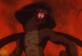 Baron serpiente anime