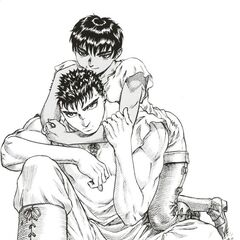 Guts sitting with <a href=