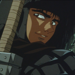 Guts impressed by Casca.