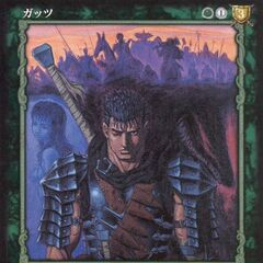 Guts stands before <a href=