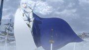 Griffith waiting for Guts
