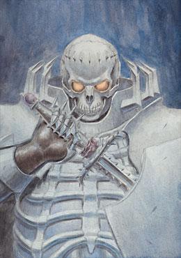 Cavaleiro Crânio Mangá