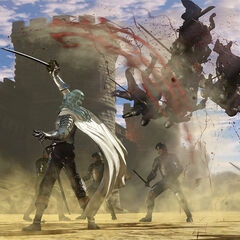 Griffith killing numerous opponents.