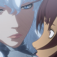 Casca reunites with Griffith atop the <a href=