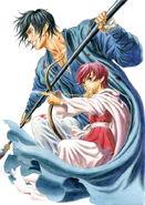 Yona y Hak (Akatsuki no Yona)